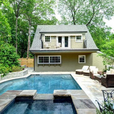 Pool House in Druid Hills